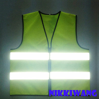 Safety Reflective Vest High Visibility Night Bicycle Cycling Running Harness