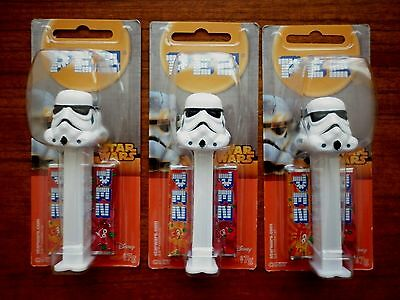 Star Wars Pez Lot Of 3  Storm Trooper New And Sealed