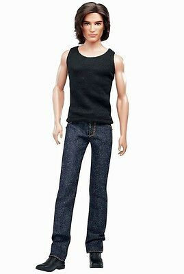 NEW Barbie 2011 NRFB Black Label Ken Model No. 15 Basics Collection 002 #T7749