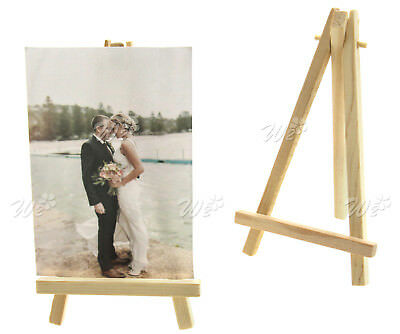 10x Mini Wooden Holder For Wedding Party Place Name Cafe Table Number Decoration