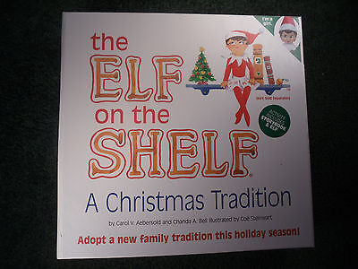 ELF ON THE SHELF With Book New in Box light skin GIRL blue eyes