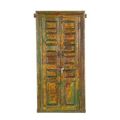 Silkroute MI1300-6 Wooden Door with Frame Mirror