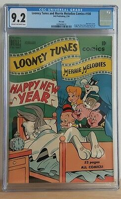 Loonie Toons and Merrie Melodie Comics #100 (Dell Feb/1950)  CGC 9.2 *File Copy*