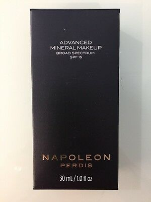 Napoleon Advanced Mineral Makeup Spf15 Look 3. Rrp $69.00