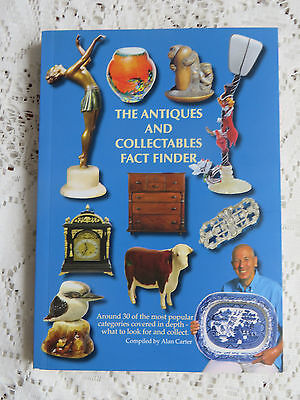 THE ANTIQUE AND COLLECTABLES FACT FINDER BOOK by ALAN CARTER