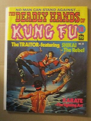 DEADLY HANDS OF KUNG FU # 10 Australian Series