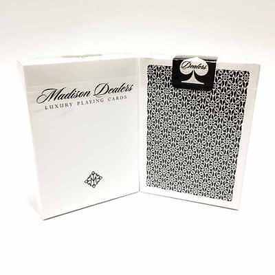 Limited Edition Black Madison Dealers Playing Cards Mint Sealed By Ellusionist