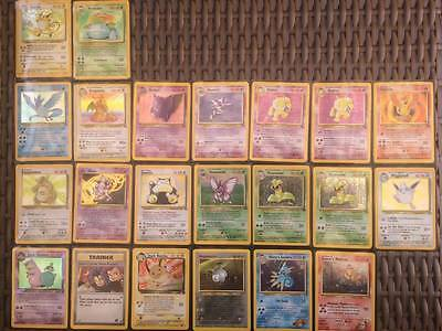 Rare NM/E Original Pokemon Holo Cards/Collection!