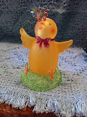 New Avon Easter Light-Up Chick With Flowers