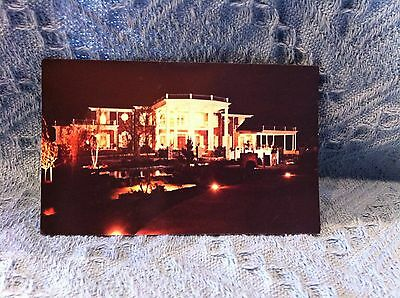 "New 1982  ""home Of Conway Twitty"" At Night Postcard"