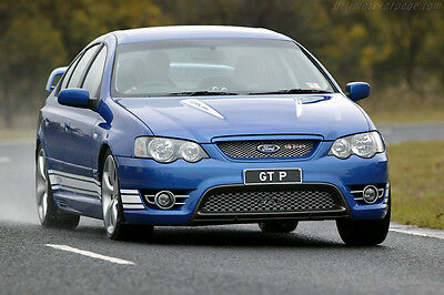 Ford FPV BA BF GT GT-P 4 Piston Brembo Front ADR Braided Brake Hoses