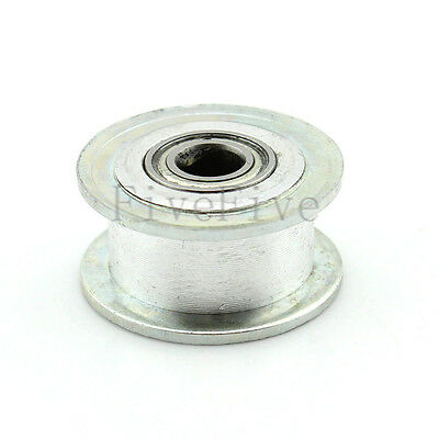 7/8/9mm Smooth Idler Pulley With Bearing 10mm Width XL MXL HTD3M 5M Timing Belt