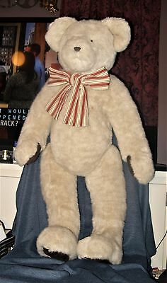 """Very Rare Retired HUGE 40"""" Blond Boyd's Bear Hayden Fallsworth with Armature NWT"""