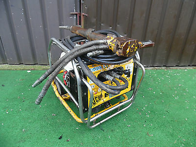 JCB Beaver Hydraulic Power pack, Petrol Honda GX240 engine Plus Breaker