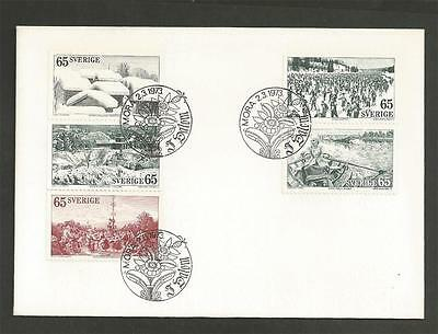 SWEDEN - 1973 Dalecarlia      - FIRST DAY COVER