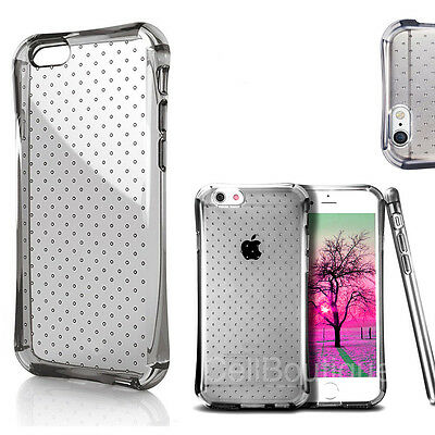 Transparent Case Clear Cover For iPhone 6 6s Free Screen Protector