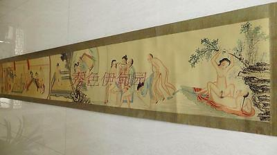ancient calligraphy and painting art collection hanging picture watch Sex 230cm