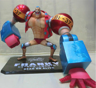 One Piece Anime New World Franky Figuarts Zero 7.08in Figure New in Box