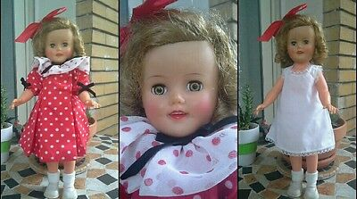 bambola Shirley Temple Ideal anni 50  50s doll ST 15 vintage