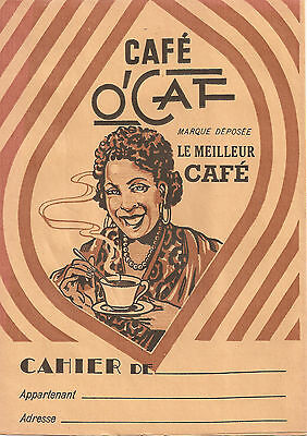 "Protege Cahier Publicitaire ""cafe O'caf"""