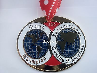 AN IBF boxing winners medal