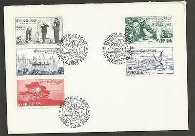 SWEDEN - 1977 In the Heart of the Roslagen District    - FIRST DAY COVER