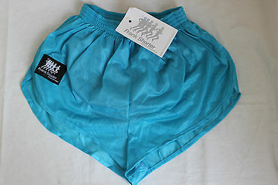 vintage 80s rare FRANK SHORTER silky running sprinter shorts MEDIUM mens NEW