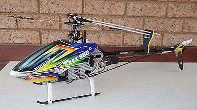 Align 3D 500 RC Helicopter with Case - (Genuine Align NOT a Chinese Clone)