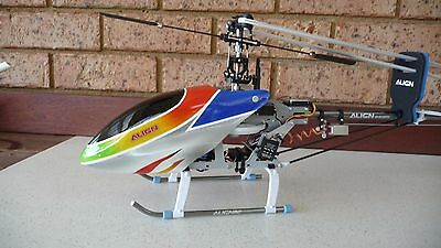 Align 3D 450 RC Helicopter with Case - (Genuine Align not a Chinese Clone)