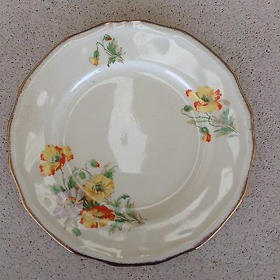 Alfred Meakin Art Deco Densby Side Plates X 4