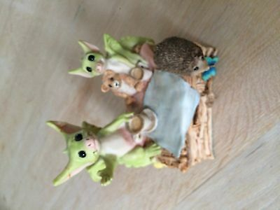 Whimsical World of Pocket Dragons Won't You Join us? Collectors Club piece