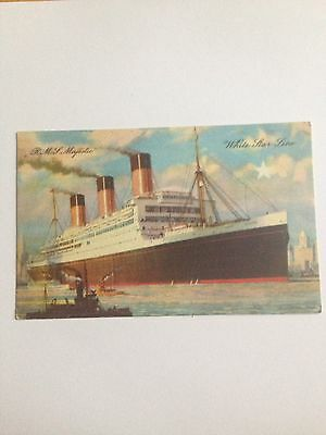 Rms Majestic  White Star Line