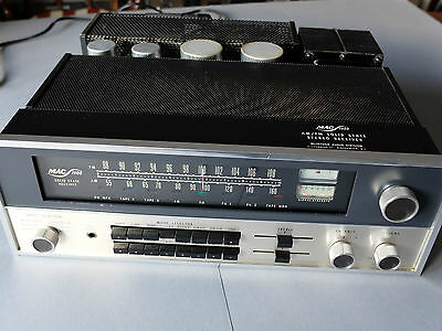 McINTOSH MAC 1900 Vintage Stereo Receiver ca. 1973 guter Zustand, opt. +Woodcase