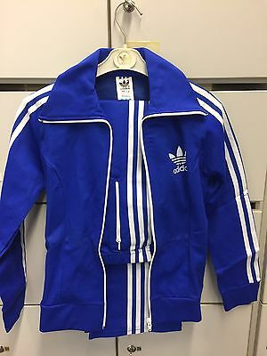 Vintage Adidas Track Suit. Made In Hong Kong. Deadstock. Size D 152. 1980's.