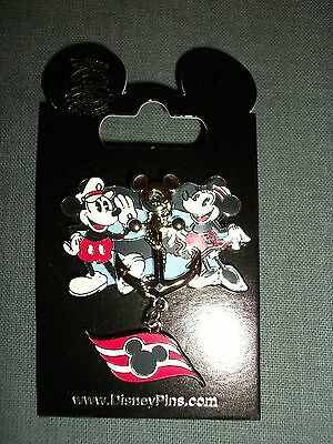 NWT DCL Disney Cruise Line Captain Mickey & Minnie Mouse Anchor Fast Ship!
