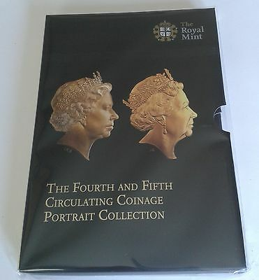 2015 Fourth And Fifth Circulating Coinage Portrait Collection Bu Coin Set