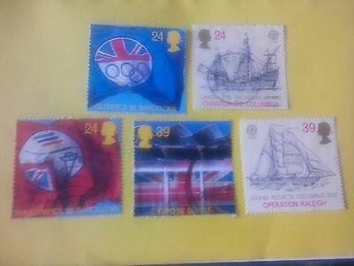 Great Britain set of stamps sg161-1619