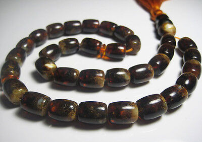 Islamic Prayer Baltic Amber 33 beads 34.3 grams !!!