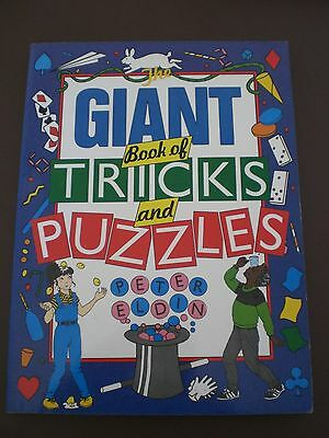 Children's Book - Giant Book of Tricks and Puzzles / Christmas Stocking Filler