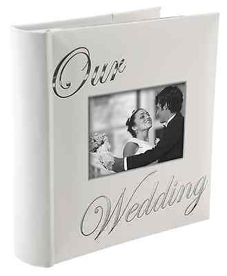 NEW OUR WEDDING album by Malden holds 160 photos - 4x6 FREE SHIPPING