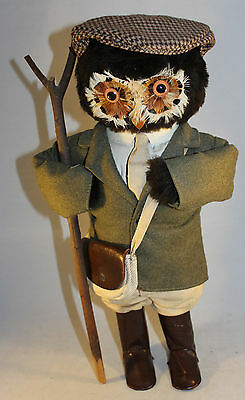 "Vintage Jungle Toys London Owl Company Country Squire 17"" Tall"