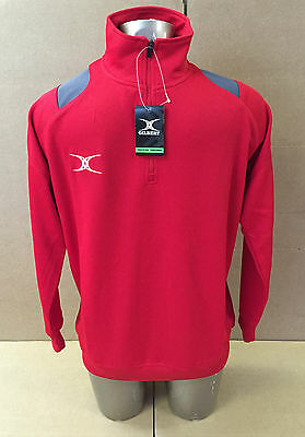 Clearance Line* Gilbert * Rugby * Mens Verve Track Top* Red * 2Xs - 2Xl