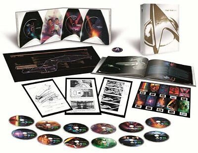 Star Trek I-X Limited Collector's Edition [Blu-ray] Halfprice then other website
