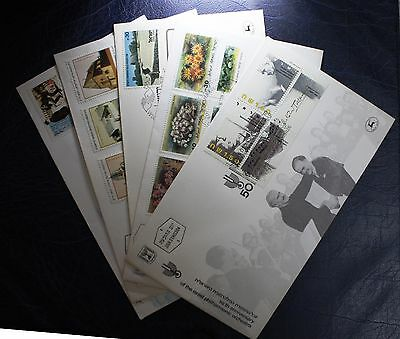 Israel Stamps 5 First Day Covers #676