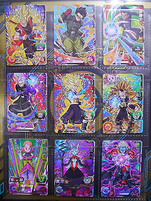 Dragon Ball Heroes 9 Pocket Binder and 14cards set Limited