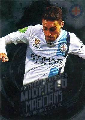 2016/17 Tap N Play FFA & A-League Soccer Midfield Magicians MM6 Caceres City