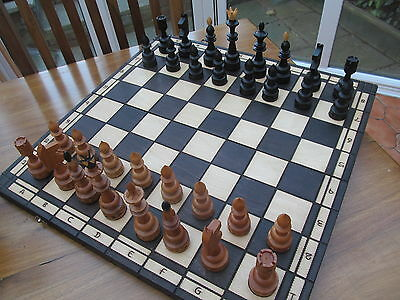 Very Large Vintage ? Chess Set