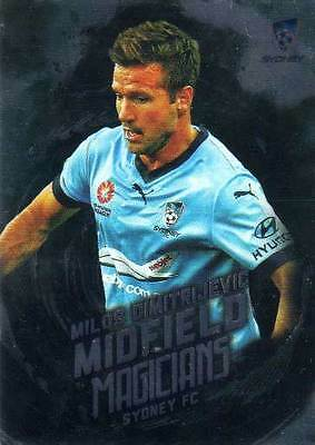 2016/17 Tap N Play FFA & A-League Soccer Midfield Magicians MM10 Dimitrijevic FC