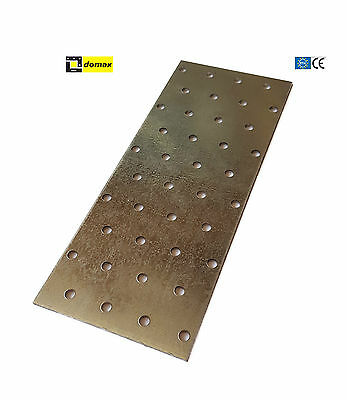 Heavy Duty Galvanised Perforated Plate 60x200x2.0mm