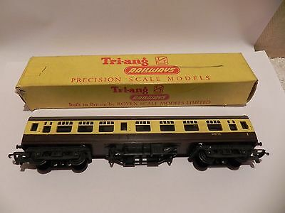 Vintage TRIANG TT GWR Standard Coach Boxed